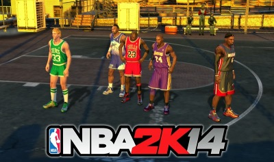 NBA 2K14 Blacktop All Players Unlocked
