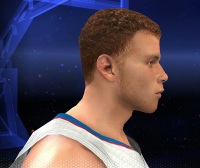 NBA 2K14 Blake Griffin Cyber Face Patch