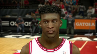 NBA 2K14 Jimmy Butler Mini Afro Hair